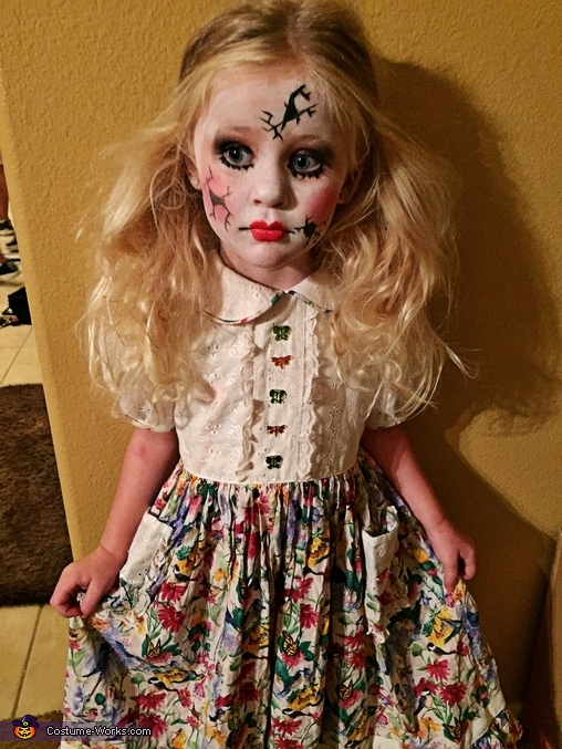 Cracked Doll Costume