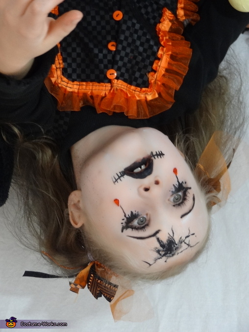 Cracked Doll Girl Costume