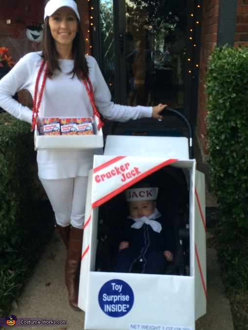 Cracker Jack Baby Costume