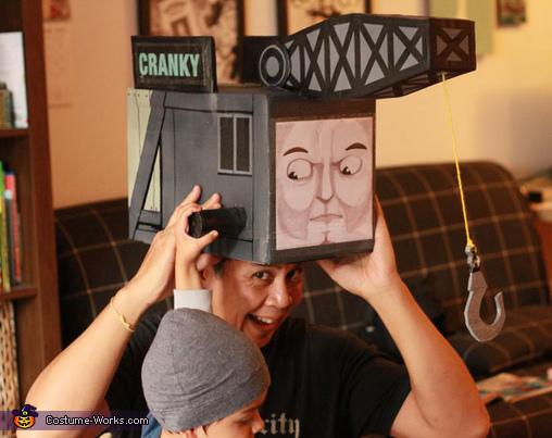 Cranky the Crane Costume