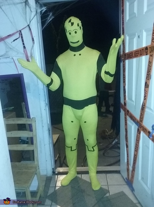 Crash Test Dummy Costume