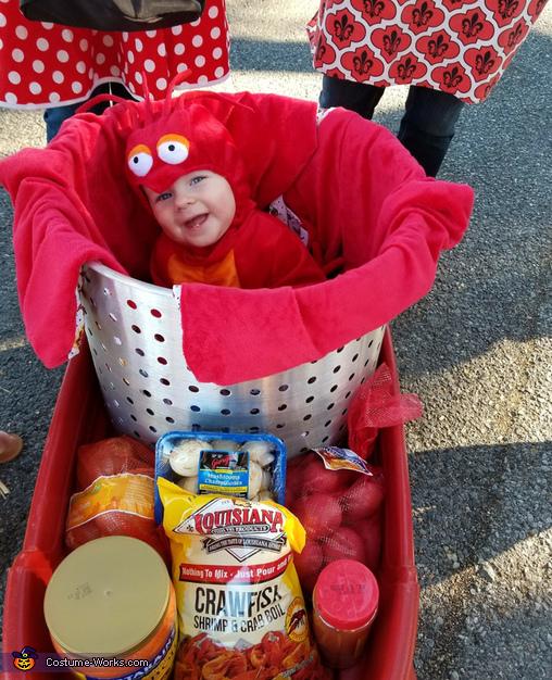 Crawfish Baby Costume