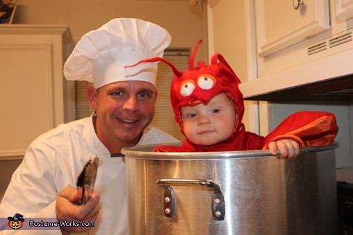 Crawfish Baby Halloween Costume