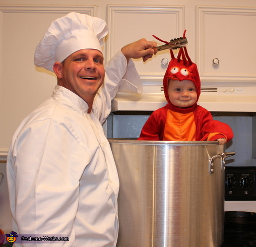 Crawfish Baby Halloween Costume