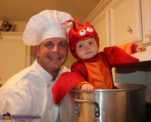 Crawfish Baby Costume