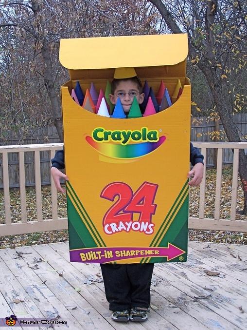 Crayola Box, Crayolas Costume