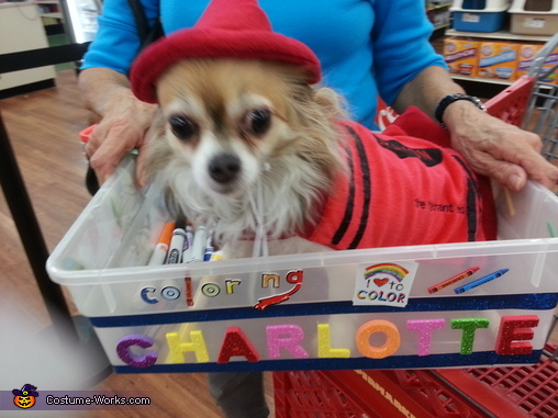 Crayon Dog Costume