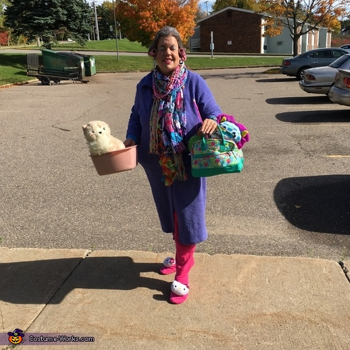Crazy Cat Lady Adult Halloween Costume