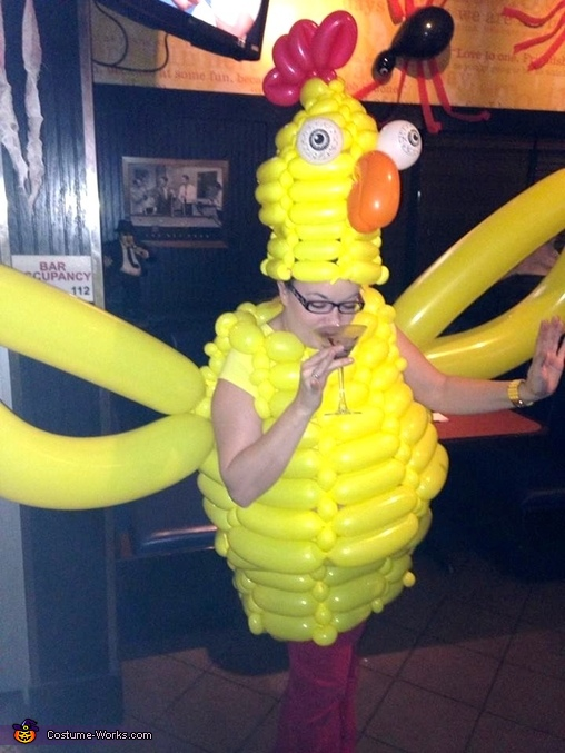 Time for a martini! , Crazy Chicken Costume