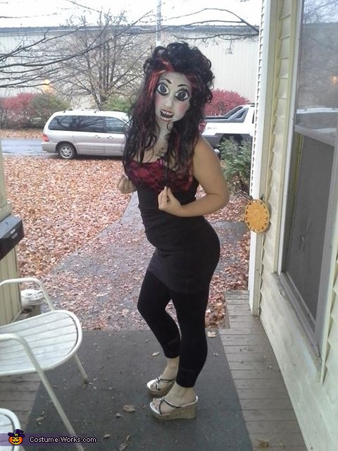 Crazy Doll Homemade Costume