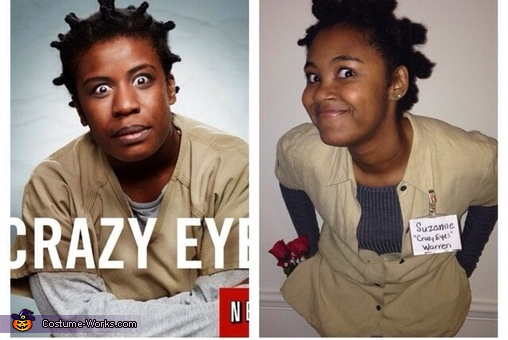 Crazy Eyes Homemade Costume