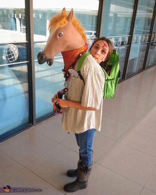 Crazy Human Horse Costume