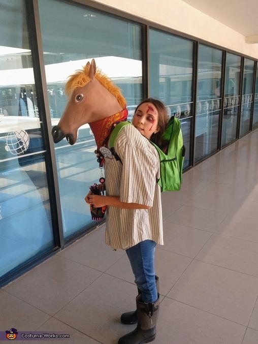 Crazy Human Horse Homemade Costume