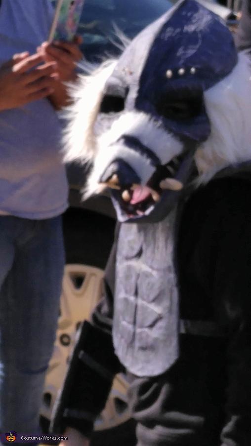 Creature Homemade Costume