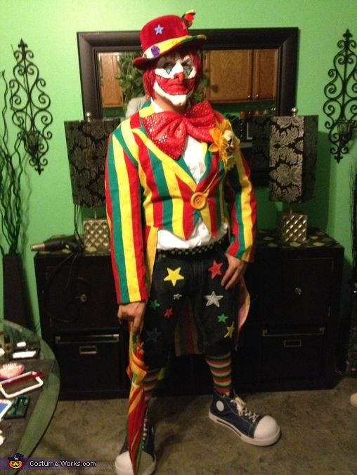 Creepy Clown Costume Diy Costumes