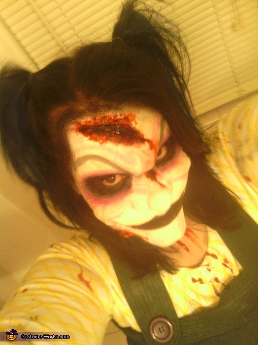 Creepy Clown Girl Costume