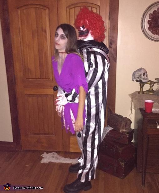 Creepy Clown Victim Costume