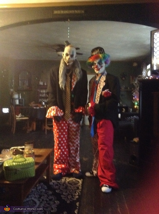 Clownin around, Creepy Clowns Costume