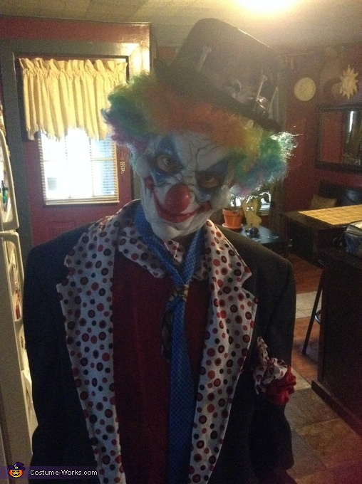 Just playin, Creepy Clowns Costume
