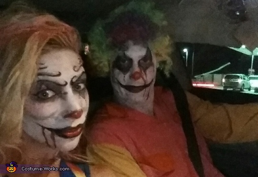 Creeping clowns!, Creepy Clowns Costume