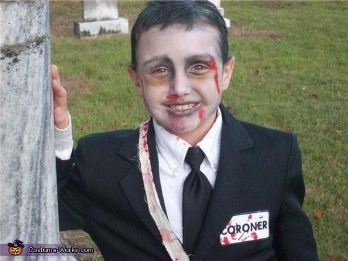 Creepy Coroner Costume