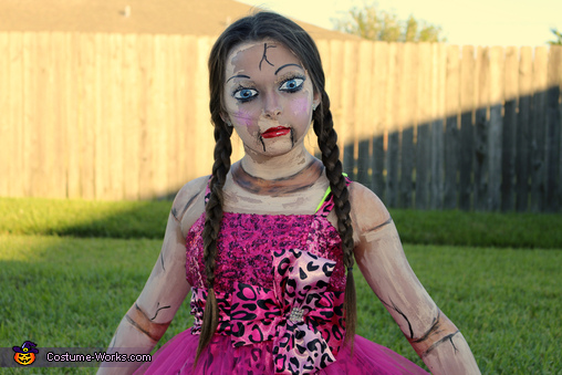 Creepy Doll Costume for Girls