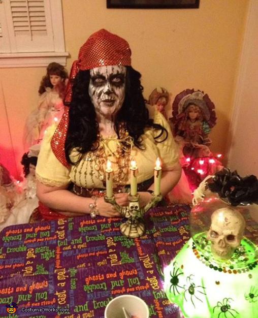 Creepy Fortune Teller Costume
