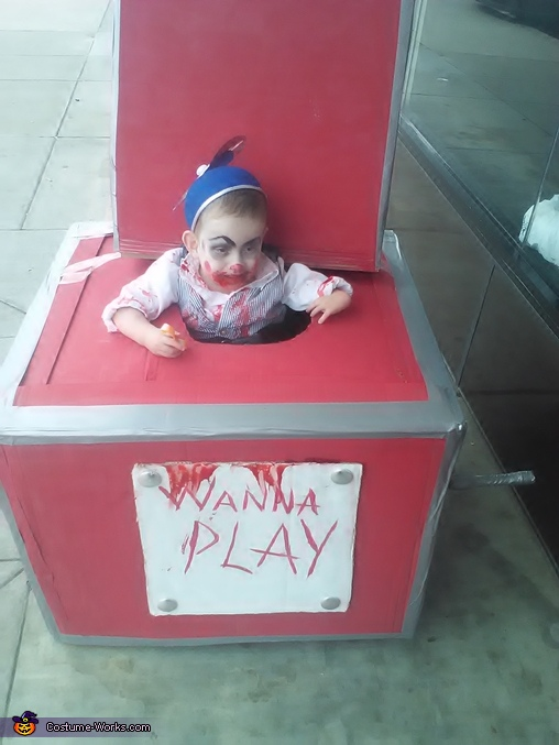 how cute can you get?, Creepy Jack-in-the-Box Costume