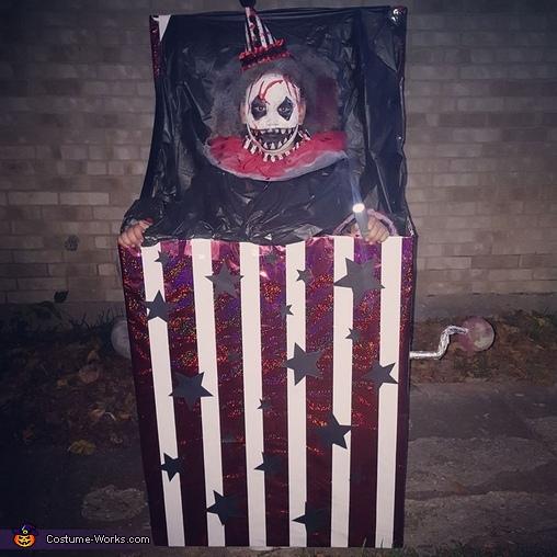 Creepy Jack in the Box Costume