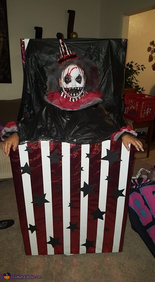 Creepy Clown 2, Creepy Jack in the Box Costume