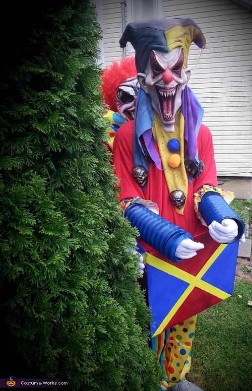 Creepy Jack in the Box Homemade Costume