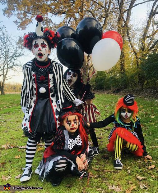 Creepy Little Clowns Costume