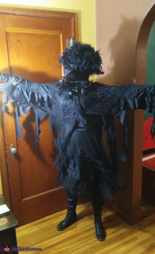 Creepy Old Crow Costume