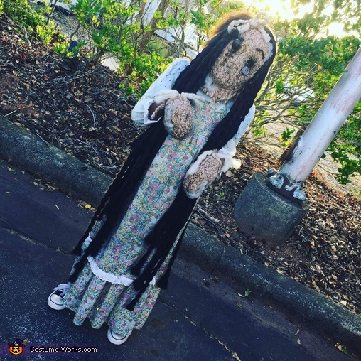 Creepy Old Doll Costume