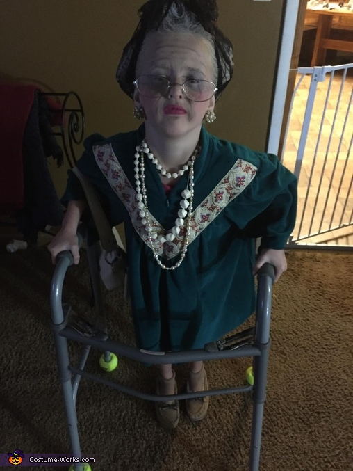 Creepy Old Lady Costume