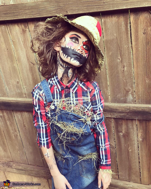 Creepy Scarecrow Costume