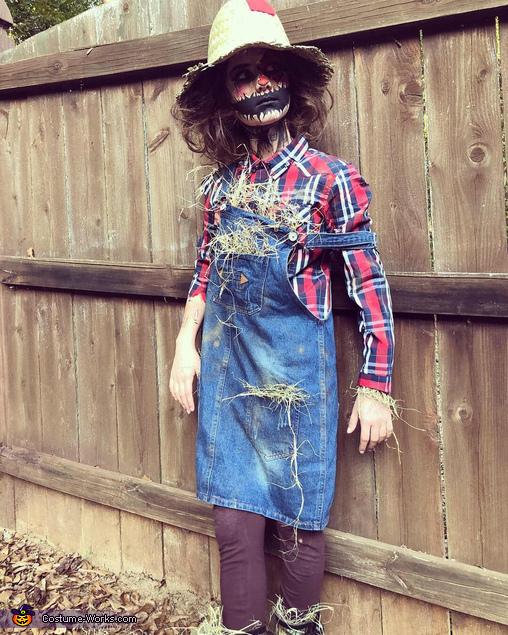 Creepy Scarecrow Homemade Costume