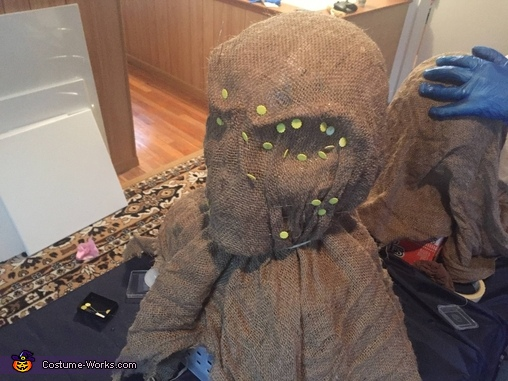 Creepy Scarecrow Homemade Costume