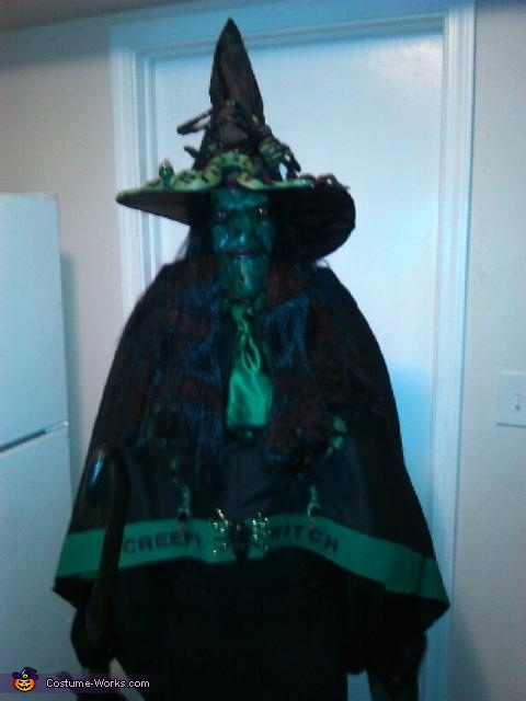 Creepy Witch Costume