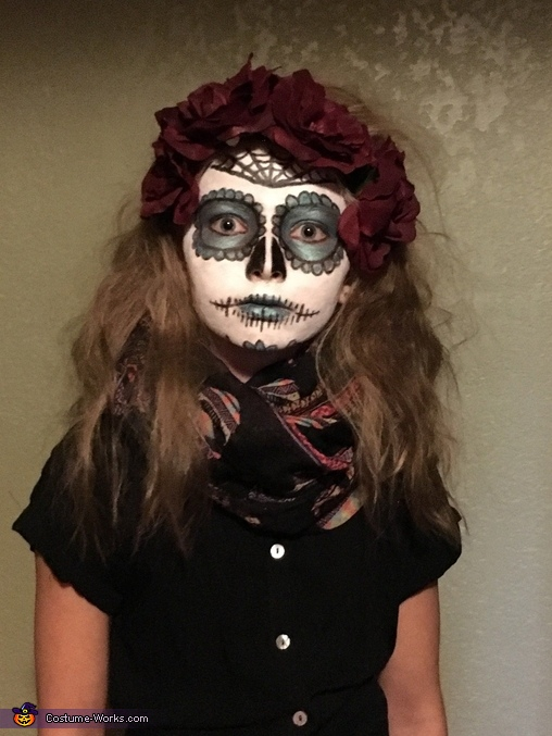 Creepy Zombie Skeleton Costume