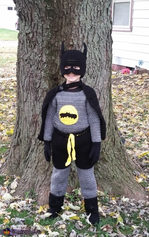 Crochet Batman Costume