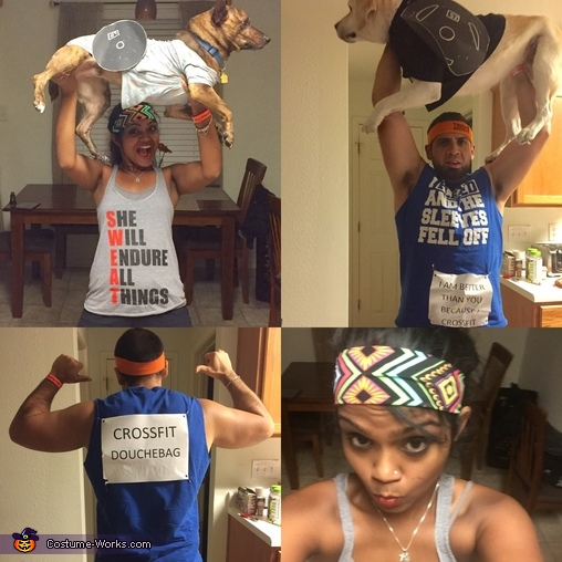 We are better than you because we crossfit, Crossfit Douchebags Costume