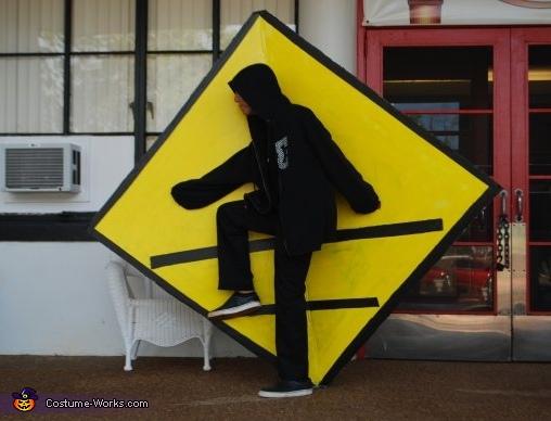 Crosswalk Man Costume