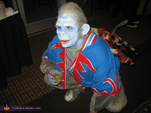 Nikko Winged Monkey - Homemade costumes for men