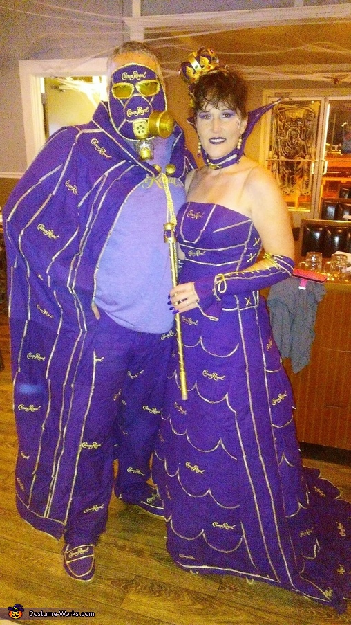 Crown Royal Royalty Costume