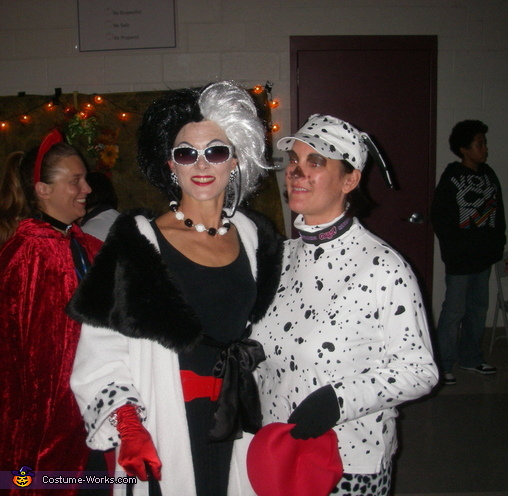 Cruella Deville - Homemade costumes for women