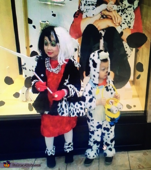 Cruella Homemade Costume