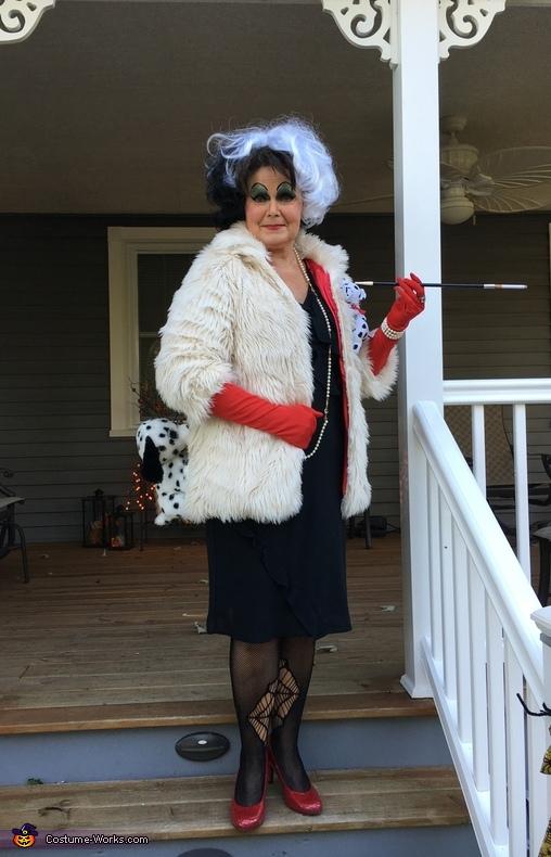 Cruella de Vil Costume