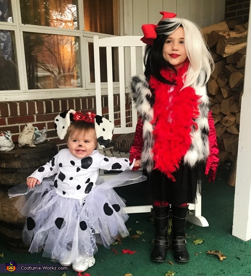 Cruella de Vil and her Pup Costume