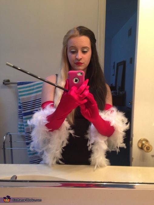 Cruella DeVill Homemade Costume